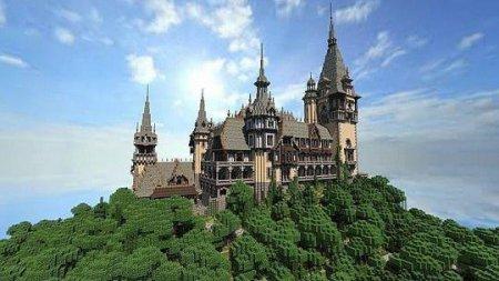 Строительство замка в Майнкрафте