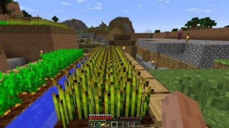 уборка пшеницы в майнкрафте друга #10